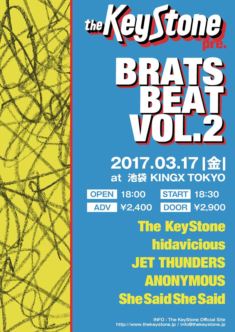 The KeyStone pre. BRATS BEAT Vol,2の写真