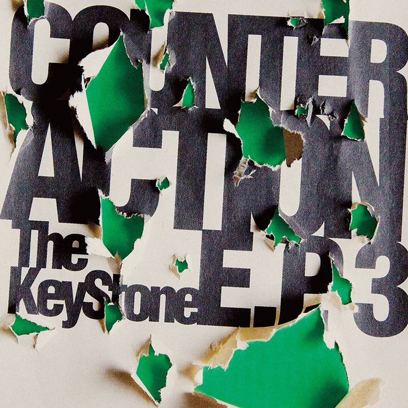 Demo Tracks / COUNTER ACTION E.P.3 通常盤のジャケット