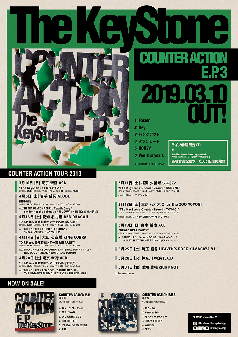 COUNTER ACTION TOUR 2019 in 熊谷の写真