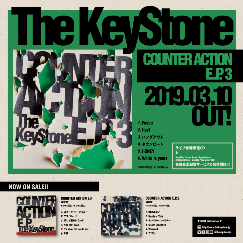The KeyStone pre. BRATS BEAT vol,21 〜The KeyStone 3rd Anniv. & ACB 51st Anniv.〜の写真