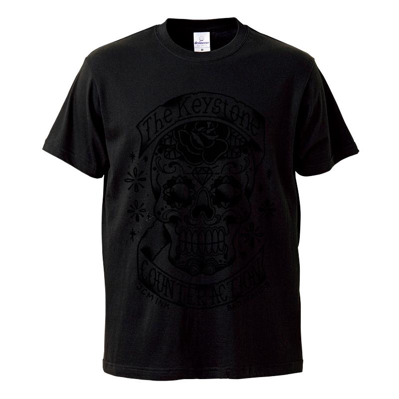 Calavera Tシャツ / 黒の写真